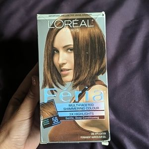 L'oreal Paris brown hair color